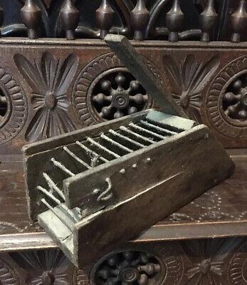 antique mouse trap - Victorian Penny Mouse Trap - Rare Survivor