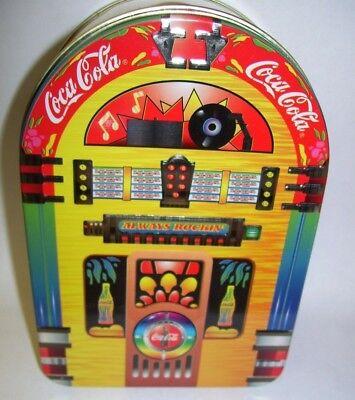 Coca Cola JukeBox Tin Box