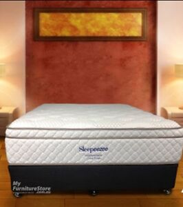 FREE DELİVERY JUST 1 MONTH OLD SLEEPEEZE MATRESS AND BASE Preston Darebin Area Preview