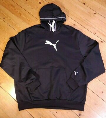 Vintage Puma Logo Hoodie Size XL