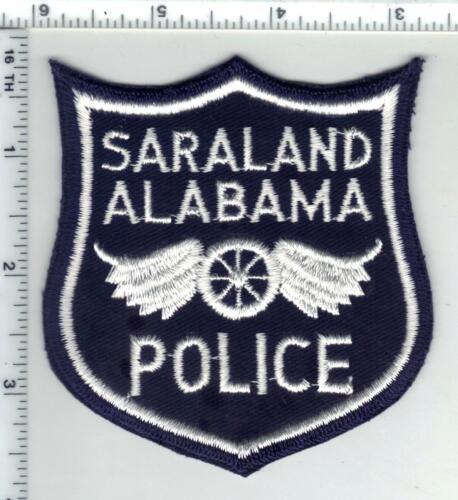 Saraland Police (Alabama) 2nd Issue Shoulder Patch