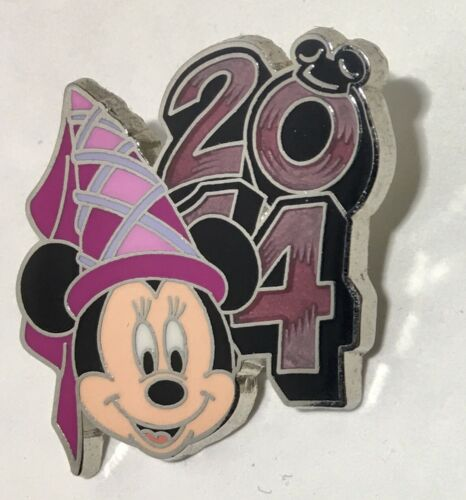 MINNIE MOUSE 2014 Dated Disney Booster Pin #99744