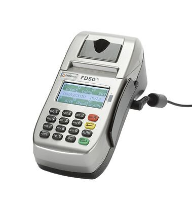 First Data Fd50ti Ip Dial Terminal  Just  129   Free Shipping   1Yr Warranty