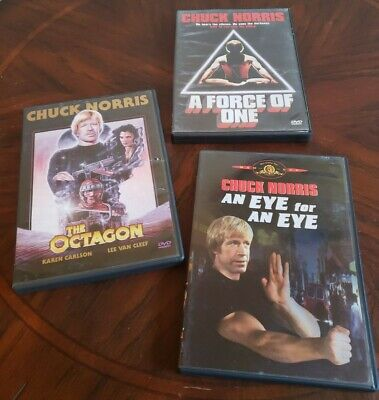 An Eye for an Eye The Octagon A Force Of One (DVD) Chuck
