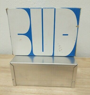 Bud Aluminum Electronics Enclosure Project Box Case Metal Small7x5x3