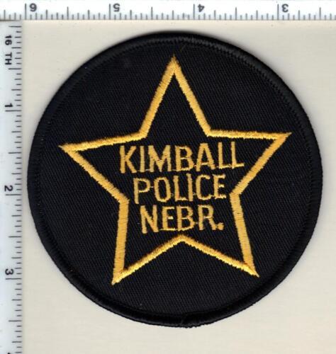 Kimball Police (Nebraska)  Shoulder Patch  - new from 1989
