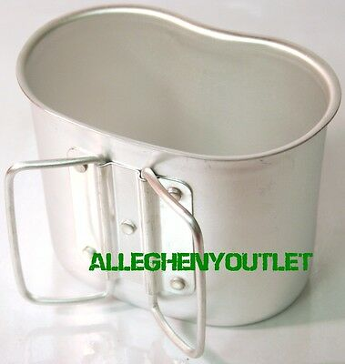 NEW Rothco Gi Style Aluminum Canteen Cup - Fits Rothco Aluminum Canteen #414