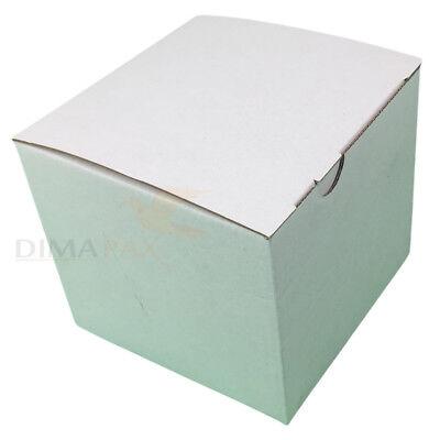 50 7x3x2 White Cardboard Paper Boxes Mailing Packing Shipping Box Carton Verpakking en verzending