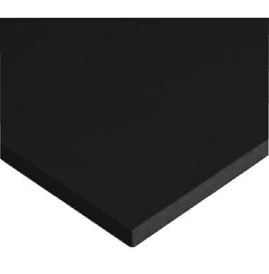 Hdpe High Density Polyethylene Plastic Sheet 12 X 12 X 12 Black Color