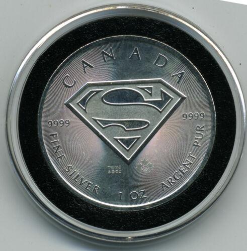 CANADA 2016 SUPERMAN .9999 1 Oz SILVER $5.00 BU