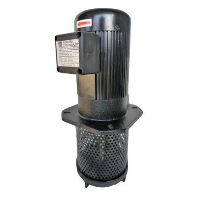 1hp Coolant Pump 3ph 220440v 180mm 7 Ptbspt 1 Cnc Cooling Circulation