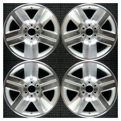 Set 2007 2009 2011 Chevrolet Avalanche Silverado Suburban Tahoe Wheels Rims 5291