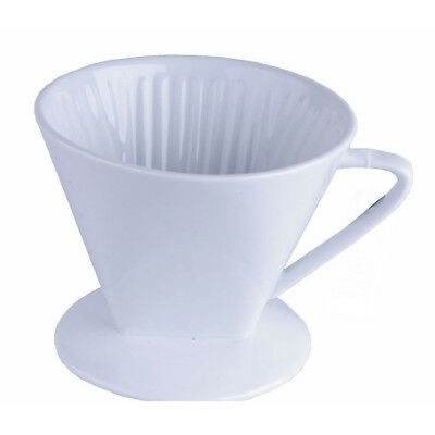 Kaffeefilterhalter 1x4 Porzellan Kaffee Filter Kaffeebereiter Dauerfilter 1 Loch ()