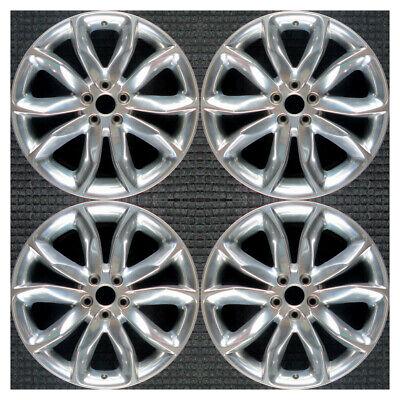 Set 2011 2012 2013 2014 2015 Ford Explorer OEM Factory Polished Wheels Rims 3861