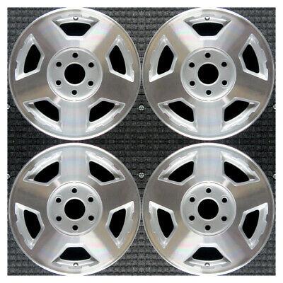 Set 2004 2005 2006 2007 Chevrolet Silverado Suburban Tahoe OEM Wheels Rims 5196