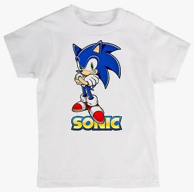 Children's Tee Shirt  featuring  SONIC THE HEDGEHOG quality cotton Kids T Shirt - Hedgehog Kids