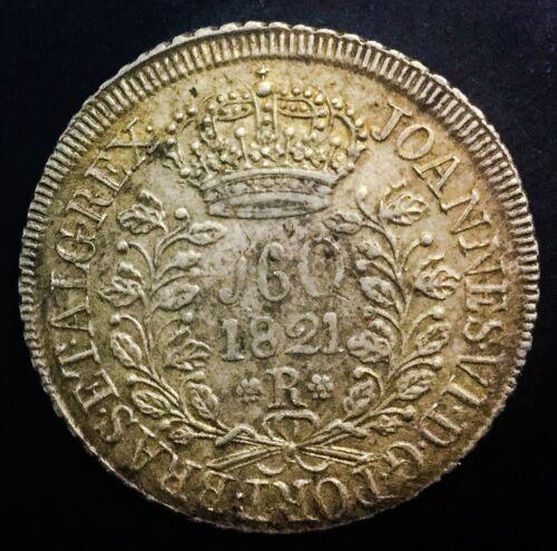 Brazil 1821 R 960 Reis Km # 326.1 Beauty Well Struck Lustrous Original Coin