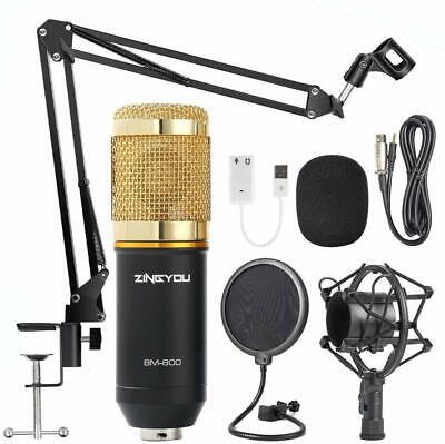 Rap Microphone Studio Recording Kit Auto-Tune Protools SoundCloud Best Music