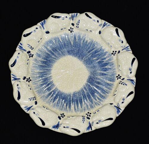 "Vintage The Potting Shed Dedham Pottery 10.5"" Bunny Rabbit Plate HT 98USA D30"