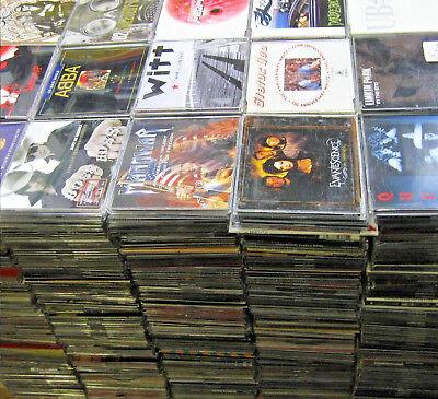 100 x Musik Maxi Single CD Mega Sammlung - Hardrock Metal Indie Punk Pop Techno