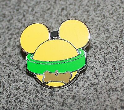 DISNEY PIN PLUTO ICON MYSTERY POUCH EARHAT COLLAR WITH BONE