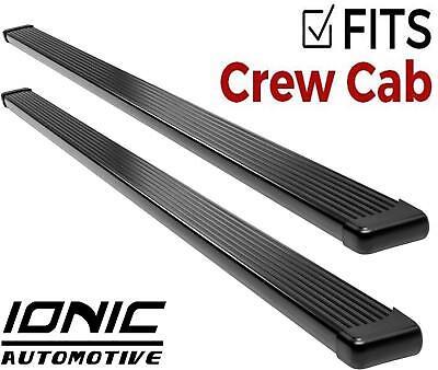 Ionic Billet Black fits 2014-2018 Silverado Sierra Crew Cab Running Boards Step