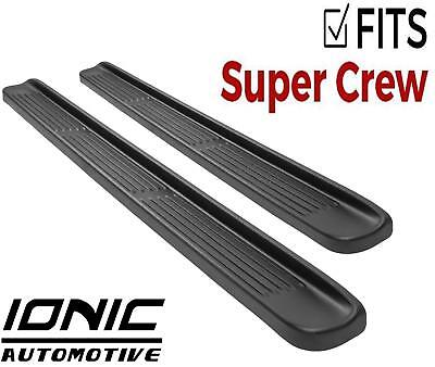 Ionic OE Style fits 1999-2016 Ford Super Duty F250 F350 Crew Cab Running Boards