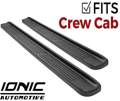 Ionic OE Style (fits) 2014-2018 Silverado Sierra Crew Cab Running Boards Steps