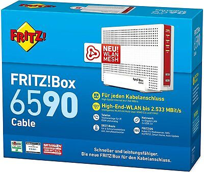Fritz!Box 6590 Cable WLAN AC + N Router