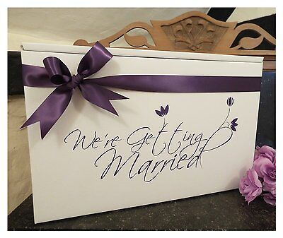 A selection of Personalised Wedding Dress Boxes for travel and storage.
