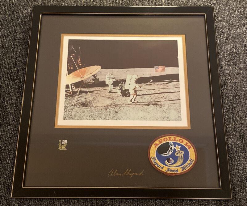 ALAN SHEPARD Vintage NASA Apollo 14 Astronaut Moon Golfer Autographed 679/2500