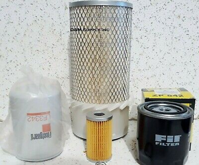 Tractor Maintenance Service Filter Kit To Fit Ford New Holland 1920