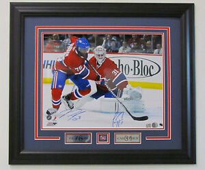 image is loading pk subban carey price montreal canadiens dual signed