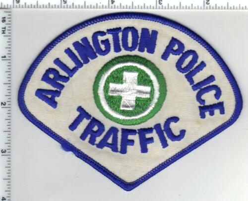 Arlington Police (Virginia) 1st Issue Traffic Shoulder Patch