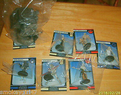 Star Wars CMG Miniatures Game FORCE UNLEASHED Booster Pack w/Maris Brood, NEW