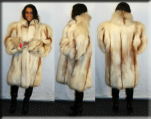 New-Sun-Glo-Fox-Fur-Stroller-Size-XL-14-16-Efurs4less
