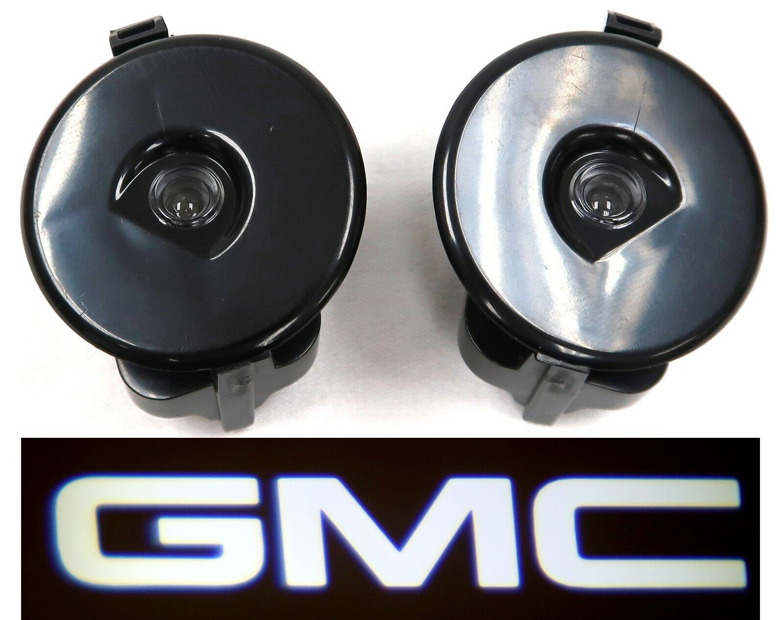 OEM Next Gen GMC Puddle Light Logo Projection Kit for Power Fold Mirrors NEW