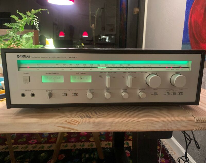 yamaha cr-640 Stereo amplifier receiver pristine condition