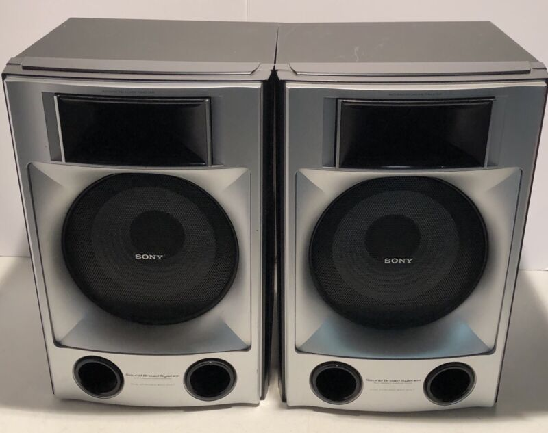 Lot Of 2 Sony HCD-LX10000/MHC-LX10000 Woofer Speakers  Model SS-GNX100