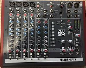 ALLEN & HEATH ZED-10 - MIXER WITH USB Rowville Knox Area Preview