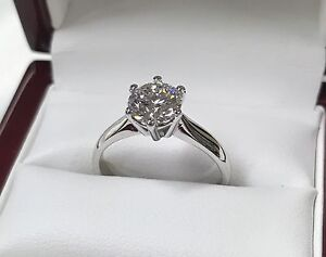 Diamond Ring GIA certified Flawless Triple Excellent Round Woolloomooloo Inner Sydney Preview