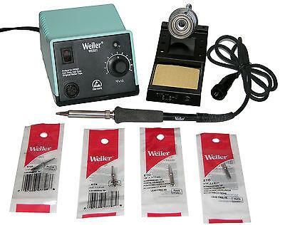 Weller WES51 Analog Soldering Station with Chisel/Screwdriver Tip Bundle