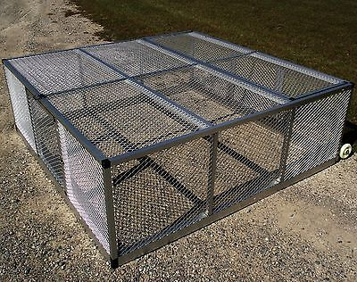 Medium Rite Farm Product Lifetime Series Mobile Chicken Run Coop Poultry Tractor