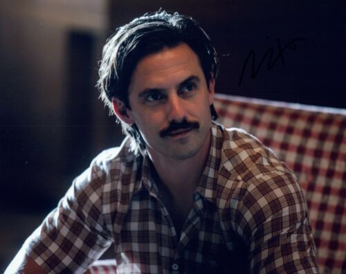Milo Ventimiglia Signed Autographed 8x10 Photo THIS IS US Actor COA