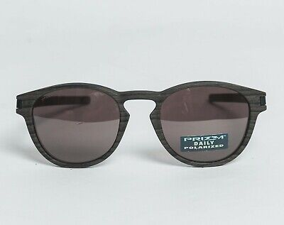 Oakley Latch POLARIZED Sunglasses OO9265-12 Woodgrain Frame W/ PRIZM DAILY Lens (Oakley Woodgrain)
