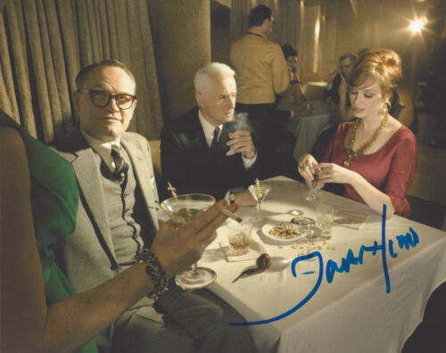 ACTOR JARED HARRIS SIGNED 'MAD MEN' LANE PRYCE 8X10 PHOTO G COA CHERNOBYL PROOF