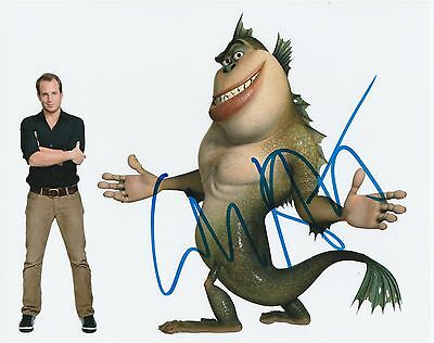 Will Arnett Autographed 8X10 Monsters Vs  Aliens Photograph