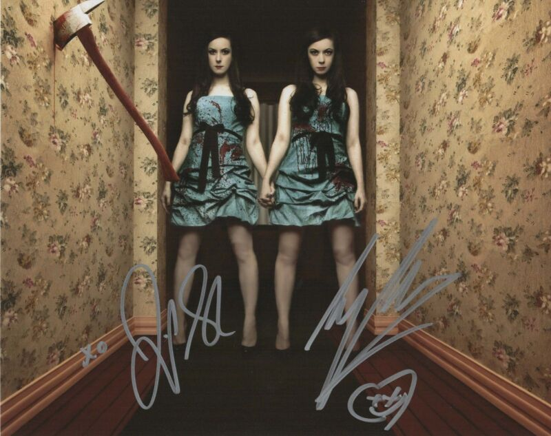 Soska Sisters Autograph 8x10 Photo Horror Signed Picture COA
