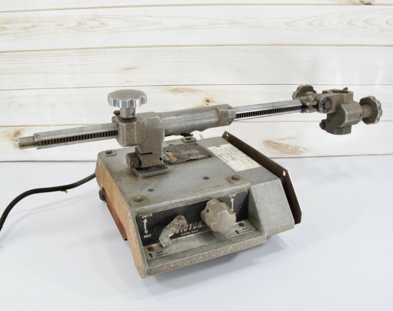 Victor VCM-200 Track Burner Oxy-Fuel Portable Torch Cutting Machine