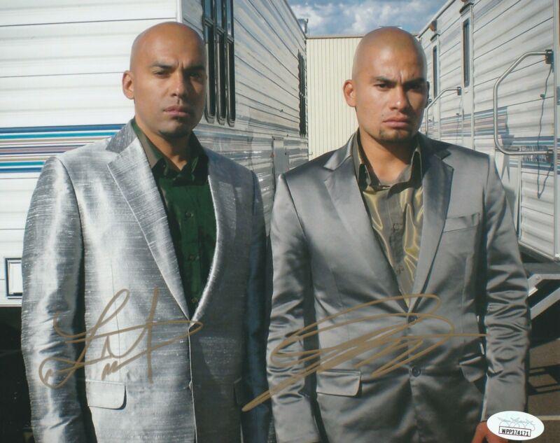 Daniel and Luis Moncada Autograph Breaking Bad 8x10 Photo JSA COA 3